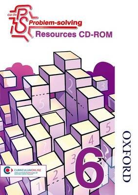 Can Do Problem Solving Year 6 Resources CD-ROM by Cathy Atherden, Sarah Foster, Lynsey Ankers