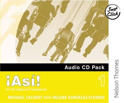 !Asi! 1- Audio CD Pack by Mike Calvert, Helena Gonzalez-Florido