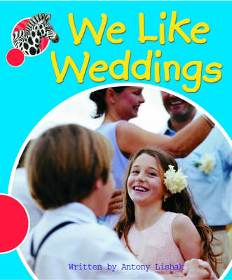 Spotty Zebra Red Change We Like Weddings by Antony Lishak