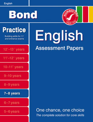 Bond First Papers in English 7-8 Years by J. M. Bond, Sarah Lindsay