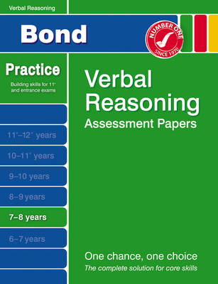Bond First Papers in Verbal Reasoning 7-8 Years by Andrew Baines