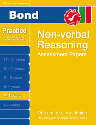 Bond First Papers in Non-verbal Reasoning 7-8 Years by Andrew Baines