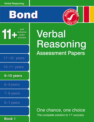 Bond Third Papers in Verbal Reasoning 9-10 Years by J. M. Bond