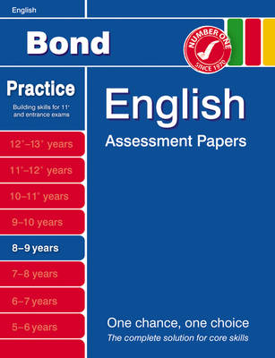 Bond Second Papers in English 8-9 Years by J. M. Bond, Sarah Lindsay