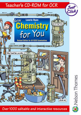 New Chemistry for You OCR Teacher's CD-Rom by Lawrie Ryan, Roger Frost