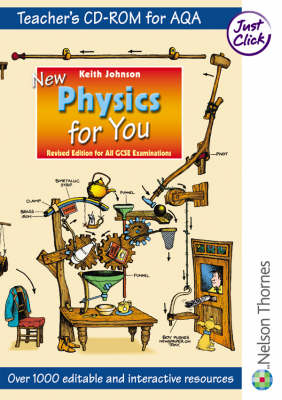 New Physics for You Teacher Support CD-ROM AQA by Keith Johnson