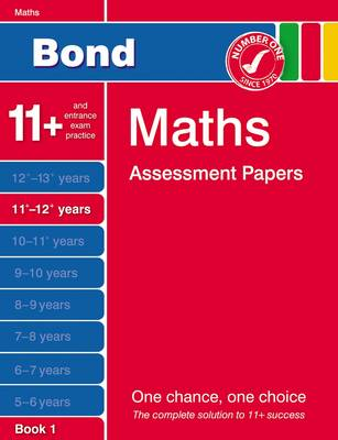 Bond Fifth Papers in Maths 11-12+ Years by J. M. Bond, Andrew Baines