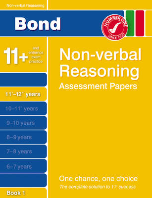 Bond Fifth Papers in Non-verbal Reasoning 11+-12+ Years by Alison Primrose