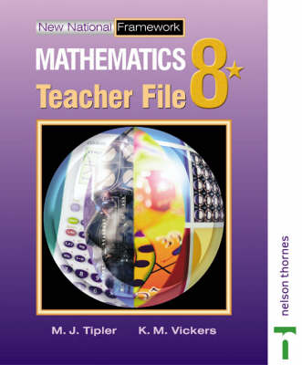New National Framework Mathematics 8* Teacher Support File by Jocelyn Douglas, Maryanne Tipler