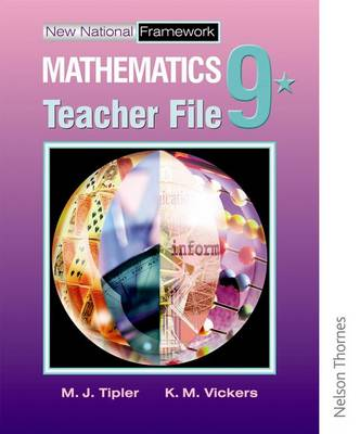 New National Framework Mathematics 9* Teacher Support File by Jocelyn Douglas, Maryanne Tipler