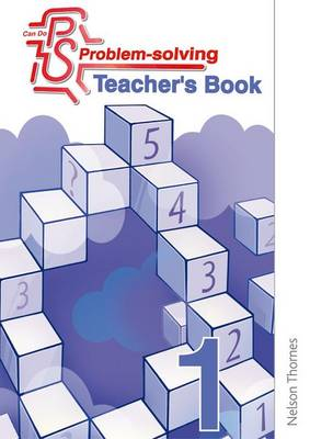 Can Do Problem Solving Year 1 Teacher's Book by Cathy Atherden