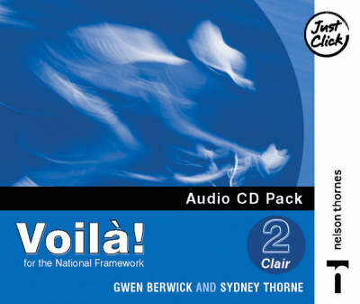 Voila! 2 Clair Audio CD Lower Pack X4 by Sydney Thorne, Gwen Berwick