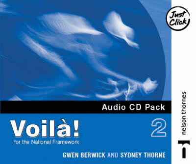 Voila! 2 Audio CD Higher Pack X4 by Sydney Thorne, Gwen Berwick