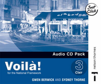 Voila! Lower Audio CD Pack by Sydney Thorne, Gwen Berwick