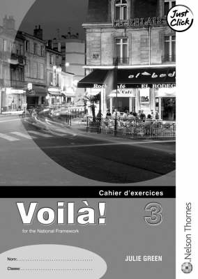 Voila 3 Workbook by Julie Green
