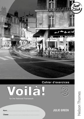 Voila! 3 Clair Workbook a Pack (X5) by Julie Green
