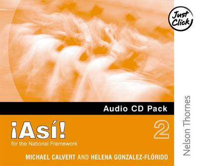 !Asi! 2 Audio CD Pack Higher by Mike Calvert, Helena Gonzalez-Florido