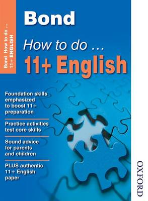 Bond How to Do 11+ English by Elisabeth Heesom