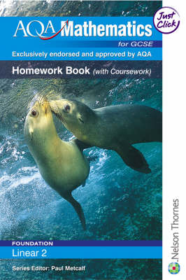 AQA Mathematics for GCSE Homework Book (with Coursework) by June Haighton, Anne Haworth, Steve Lomax, Andrew Manning