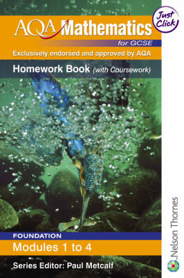 AQA Mathematics for GCSE Homework Book by June Haighton, Anne Haworth, Steve Lomax, Andrew Manning