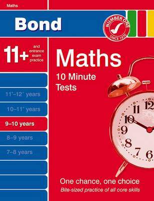 Bond 10 Minute Tests Maths 9-10 Years by Sarah Lindsay