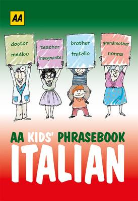 AA Phrasebook for Kids: Italian by AA Publishing
