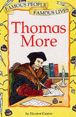 Thomas More by Harriet Castor, Beth Willey