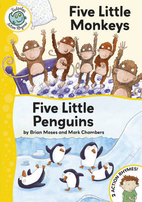 Five Little monkeys/Five Little Penguins by Brian Moses