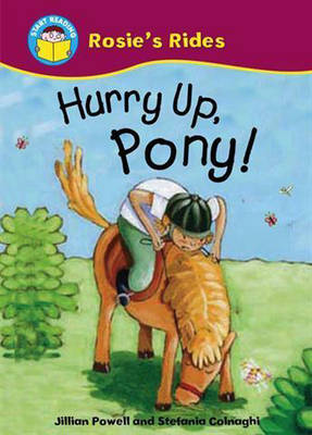 Hurry Up, Pony! by Jillian Powell, James Carter
