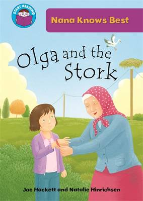 Olga and the Stork by Joe Hackett