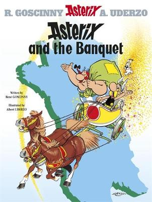 Asterix and the Banquet Album 5 by Rene Goscinny