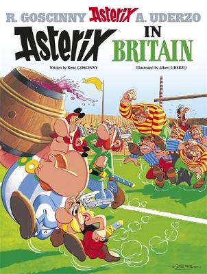 Asterix in Britain Album 8 by Rene Goscinny
