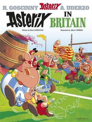 Asterix in Britain Album 8 by Rene Goscinny
