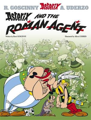 Asterix and the Roman Agent Album 15 by Rene Goscinny