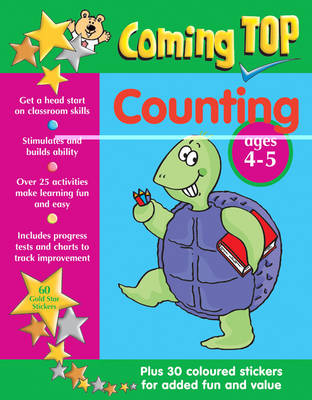 Counting Sticker Book by Jean Williams, Sarah Eason