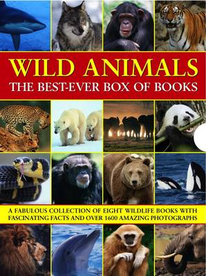Wild Animals The Best-ever Box of Books by Michael Bright, Jen Green, Tom Jackson
