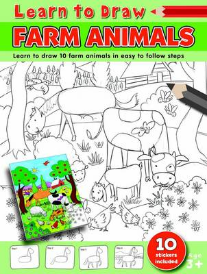 Learn to Draw Farm Animals Learning to Draw Activity Book by Amy McHugh