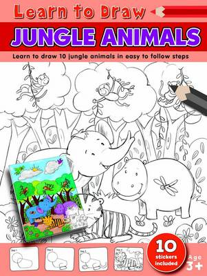 Learn to Draw Jungle Animals Learning to Draw Activity Book by Amy McHugh
