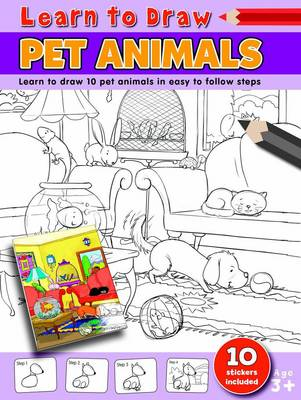 Learn to Draw Pet Animals Learning to Draw Activity Book by Amy McHugh