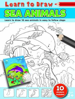 Learn to Draw Sea Animals Learning to Draw Activity Book by Amy McHugh