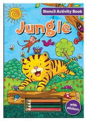 Stencil Activity Book - Jungle by