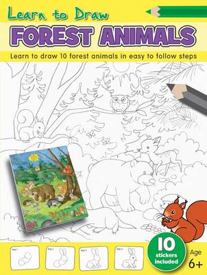 Learn to Draw - Forest Animals by