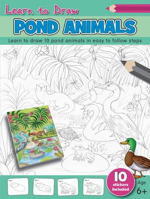 Learn to Draw - Pond Animals by Robert Hamilton