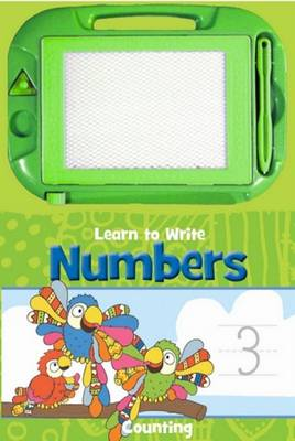 Activity Sketch Pad: Learn to Write Numbers by Jo Joof