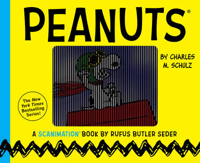 Peanuts A Scanimation Book by Rufus Butler Seder