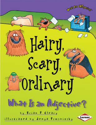 Hairy, Scary, Ordinary What is an Adjective by Brian Cleary
