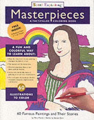 Start Exploring Masterpieces A Fact-filled Colouring Book by Steven Zorn