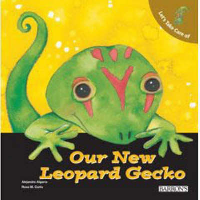 Our New Leopard Gecko by Alejandro Algarra