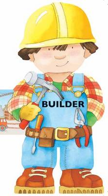 Builder Mini People Shaped Books by Giovanni Caviezel, C. Mesturini