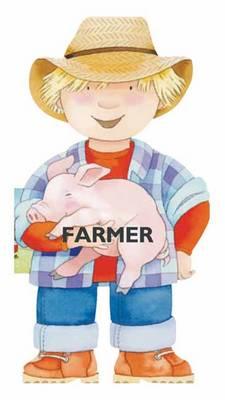 Farmer Mini People Shaped Books by Giovanni Caviezel, C. Mesturini